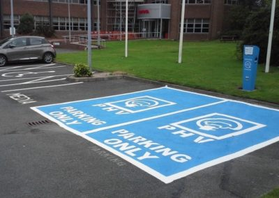 Electric Vehicle Charge Points and Bay