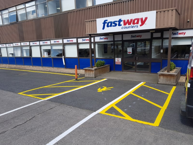 Fastway Couriers – Car Park Line Marking